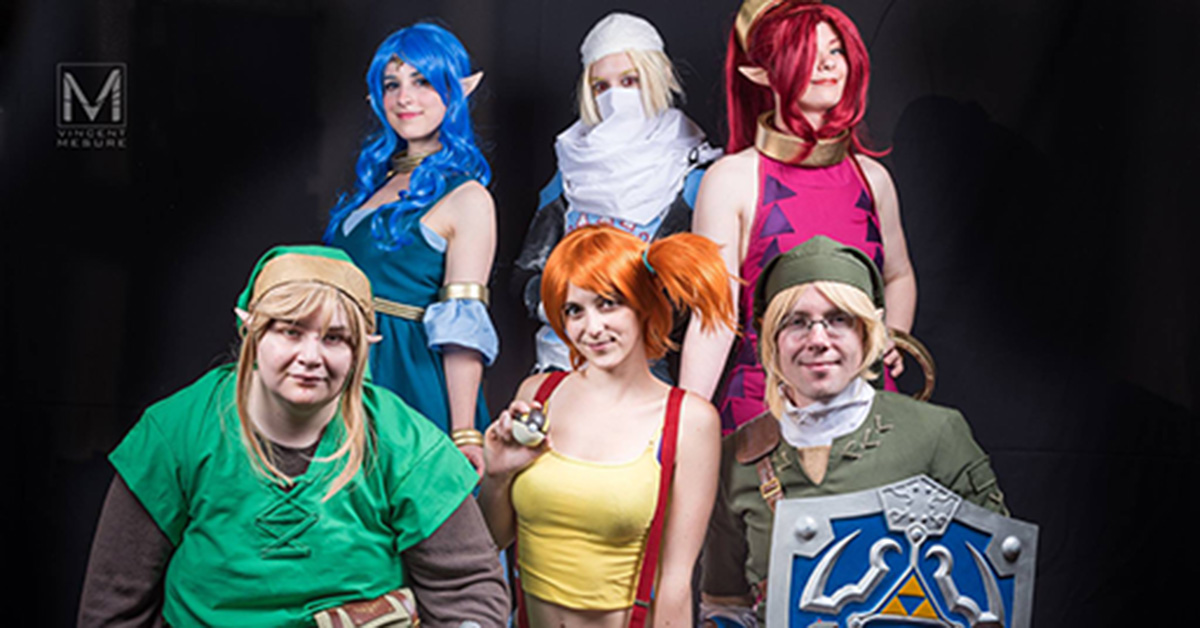 Speedruns, Cosplayers et exposants