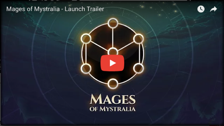 Mages of Mystralia - Launch Trailer